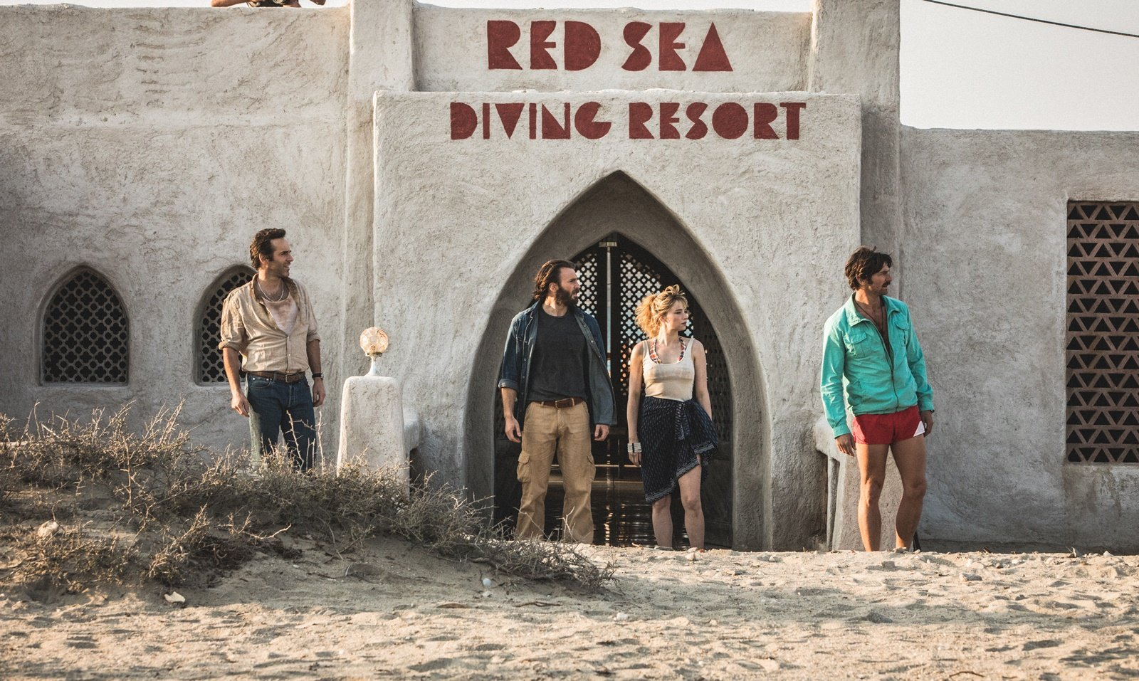 Red Sea Diving Resort premiered on Netflix on July 31, 2019