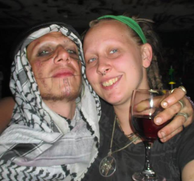 Pazuzu Illah Algarad With His Girlfriend Amber Burch