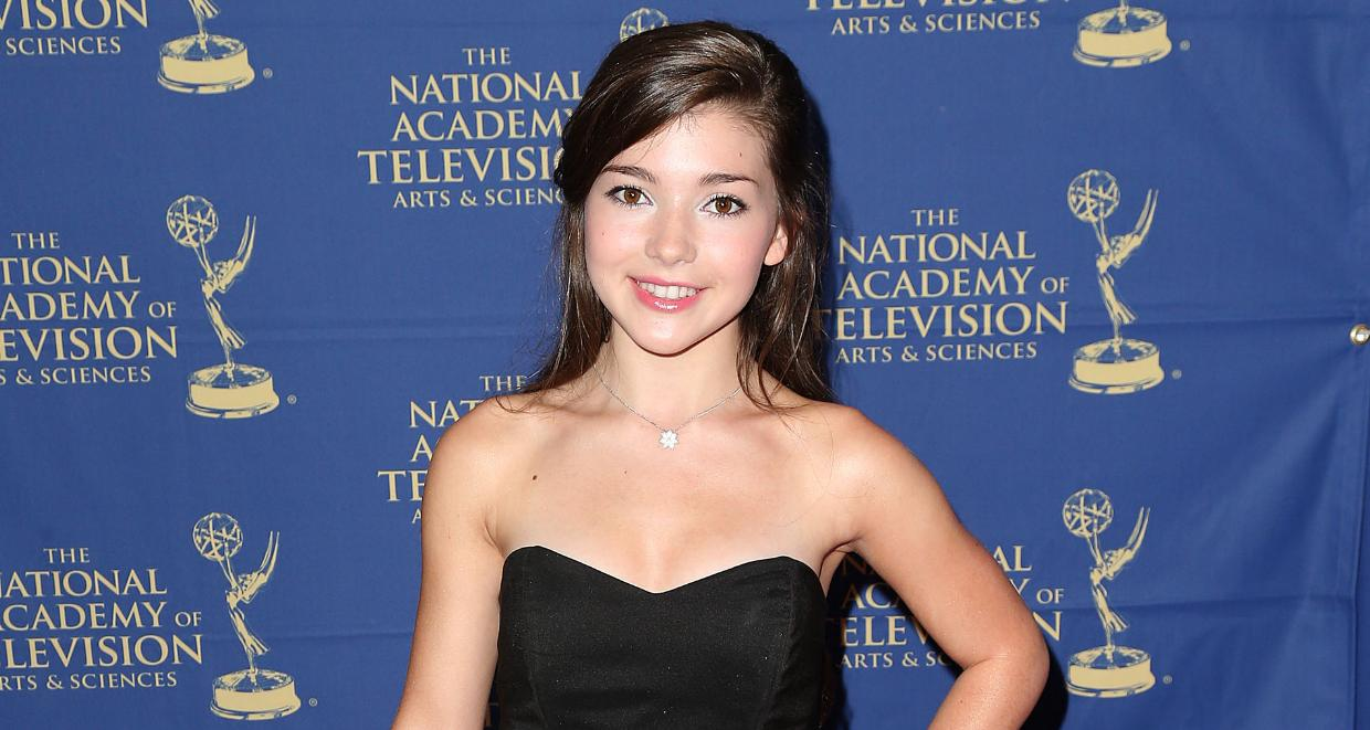 Actress Katie Douglas attends the Daytime Creative Arts Emmy Awards Gala at the Westin Bonaventure Hotel