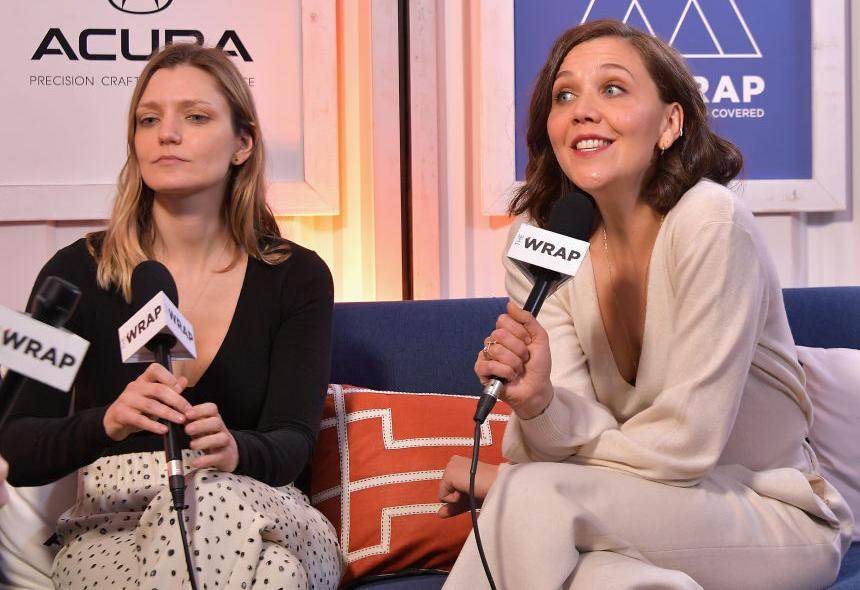 Sara Colangelo with Maggie Gyllenhaal