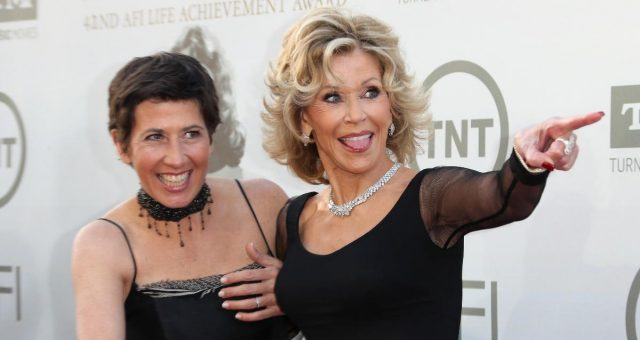 Vanessa Vadim with Jane Fonda
