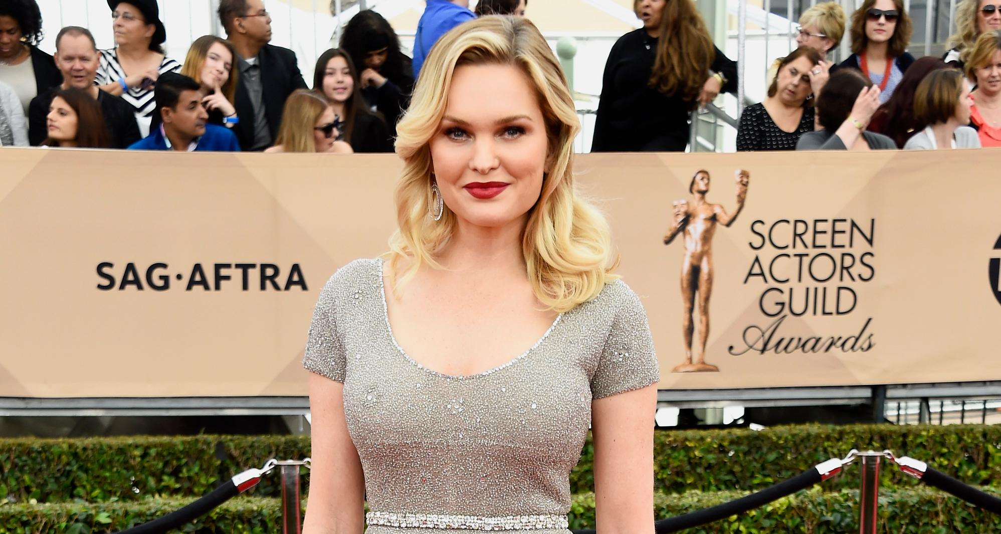 Actress Sunny Mabrey attends the 22nd Annual Screen Actors Guild Awards at The Shrine Auditorium