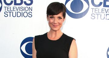Actress Zoe McLellan attends the 'CBS Summer Soiree' held at The London West Hollywood