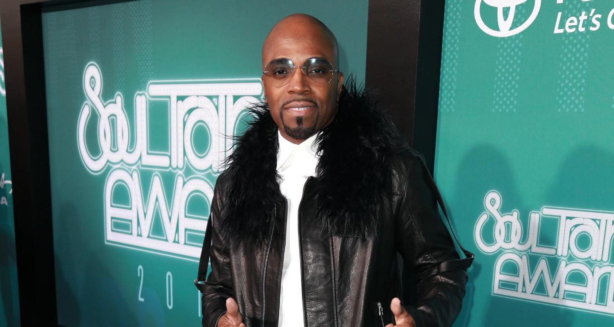 Teddy Riley of Guy attends the 2017 Soul Train Awards, presented by BET, at the Orleans Arena