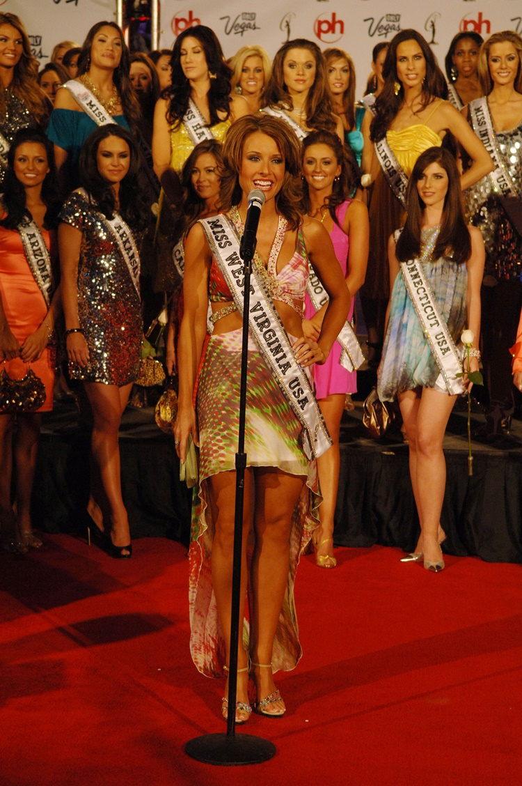 Skylene Montgomery Competing In Miss USA 2008 in Virginia