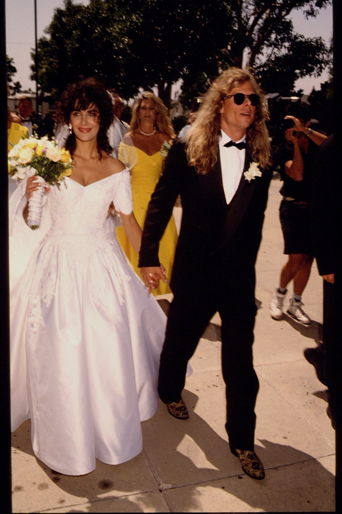 Michael-Lamper-and-Marina-Sirtis-Married-in-1992