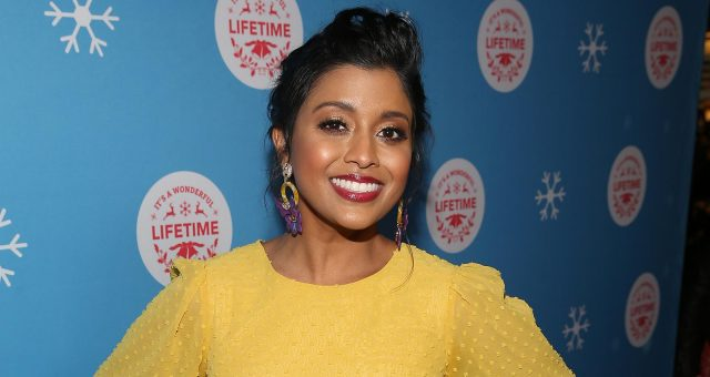 Tiya Sircar in Lifetime Movies Christmas Lost and Found