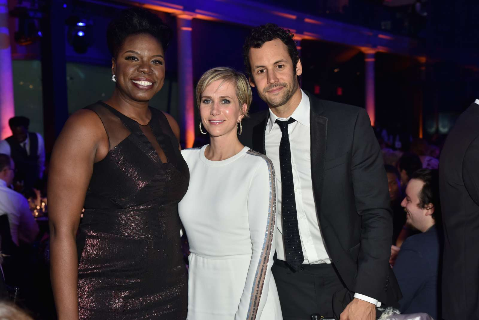 Leslie Jones, Kristen Wiig, and Avi Rothman