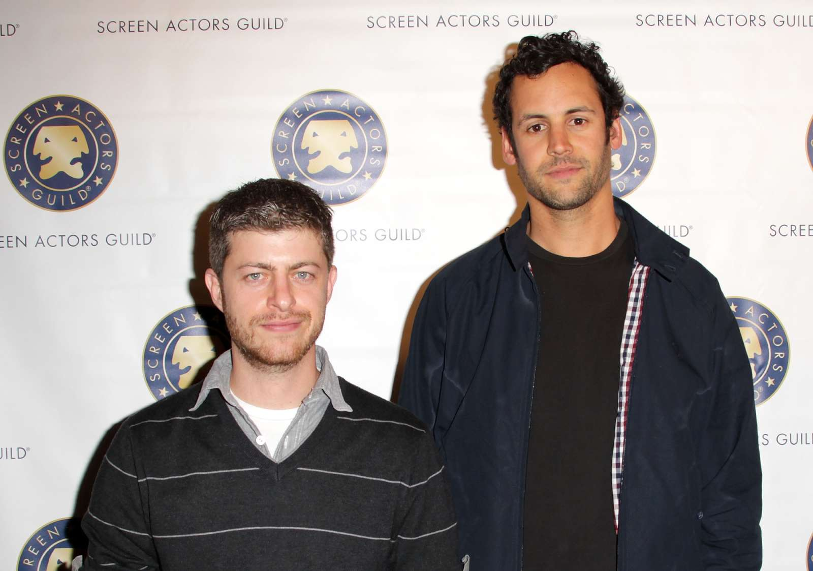 Oren Kaplan and actor Avi Rothman