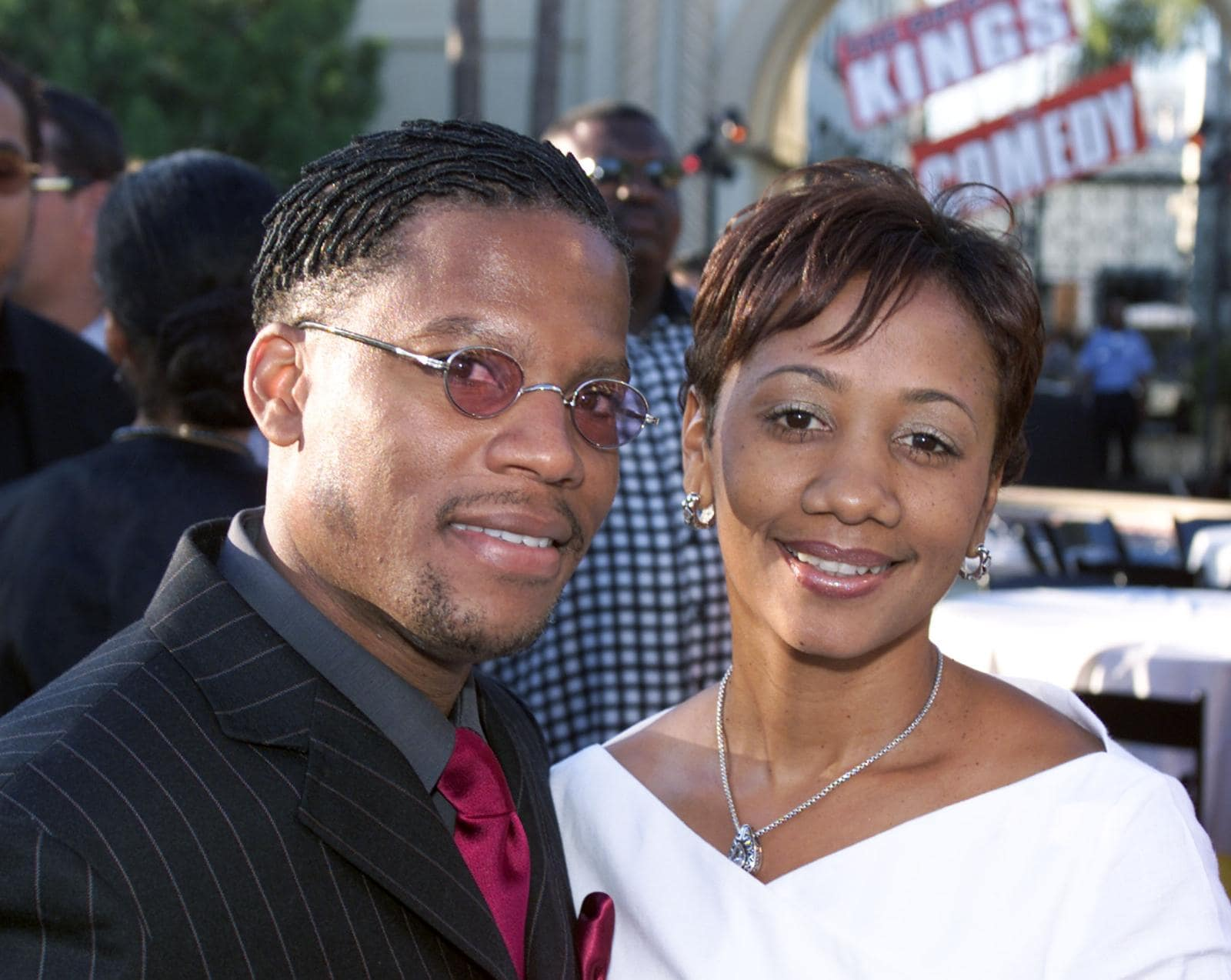 DL Hughley and wife Ladonna Hughley