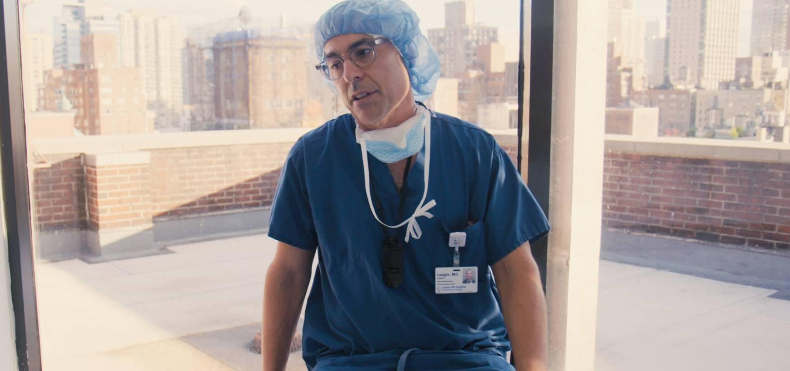DR. DAVID LANGER in lenox hill