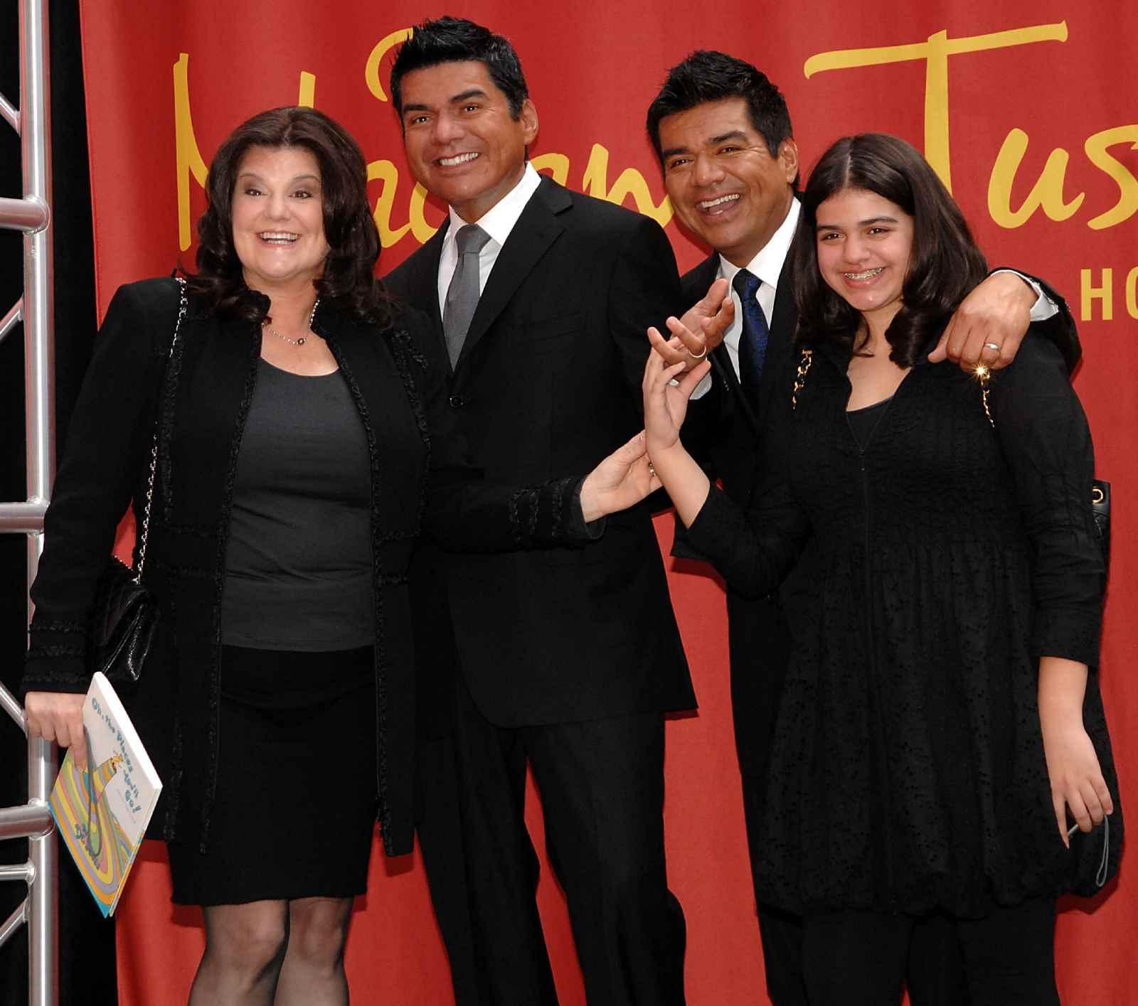 George Lopez, Ann Serrano, Mayan Lopez