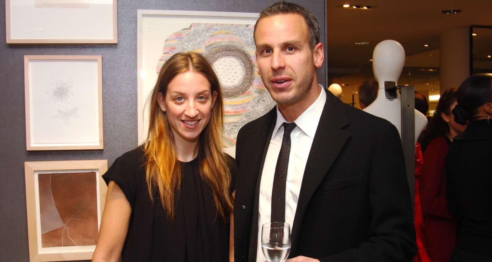 Simone Shubuck and Adam Rapaport