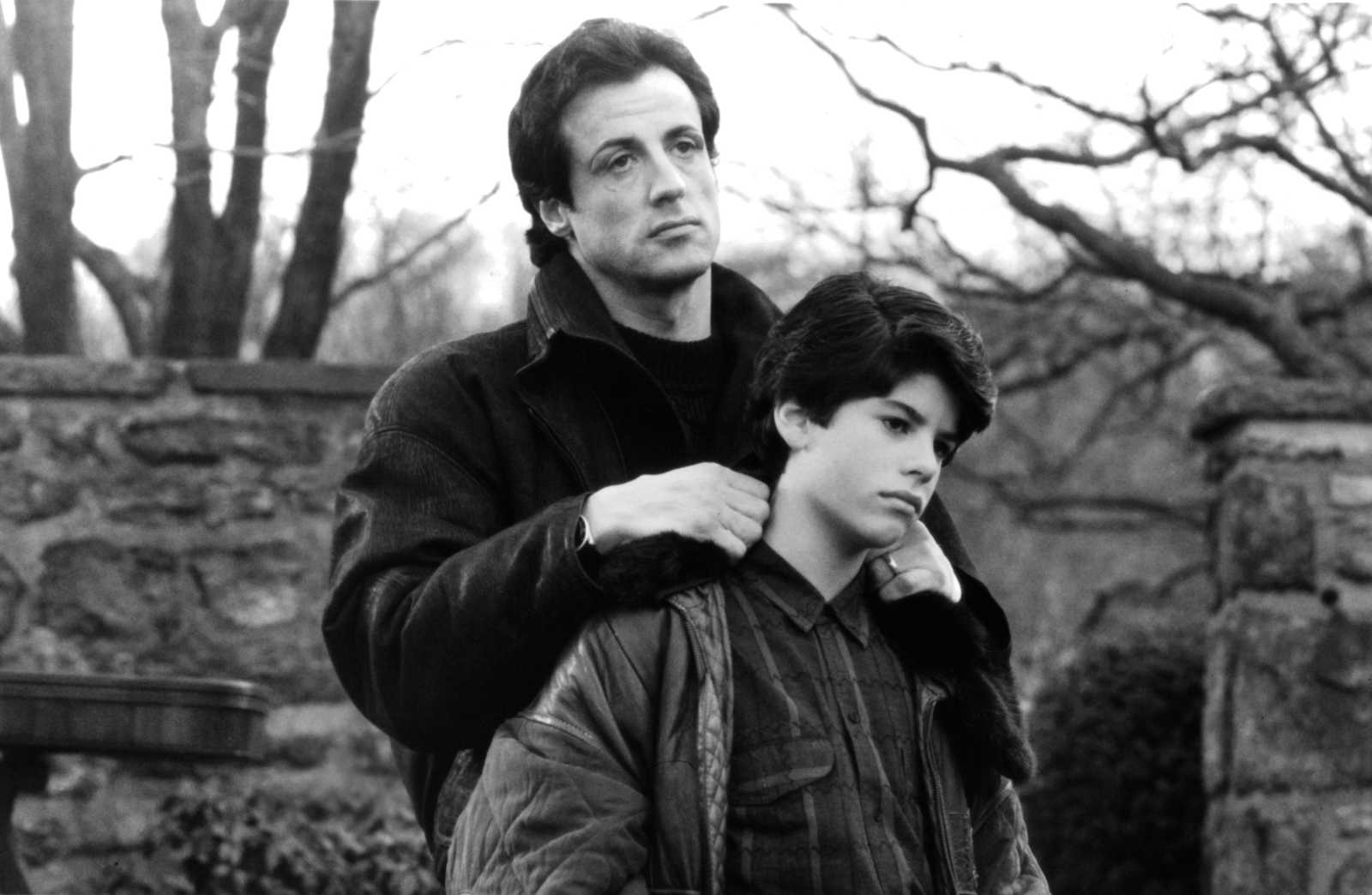 Sylvester Stallone and his son actor Sage Stallone
