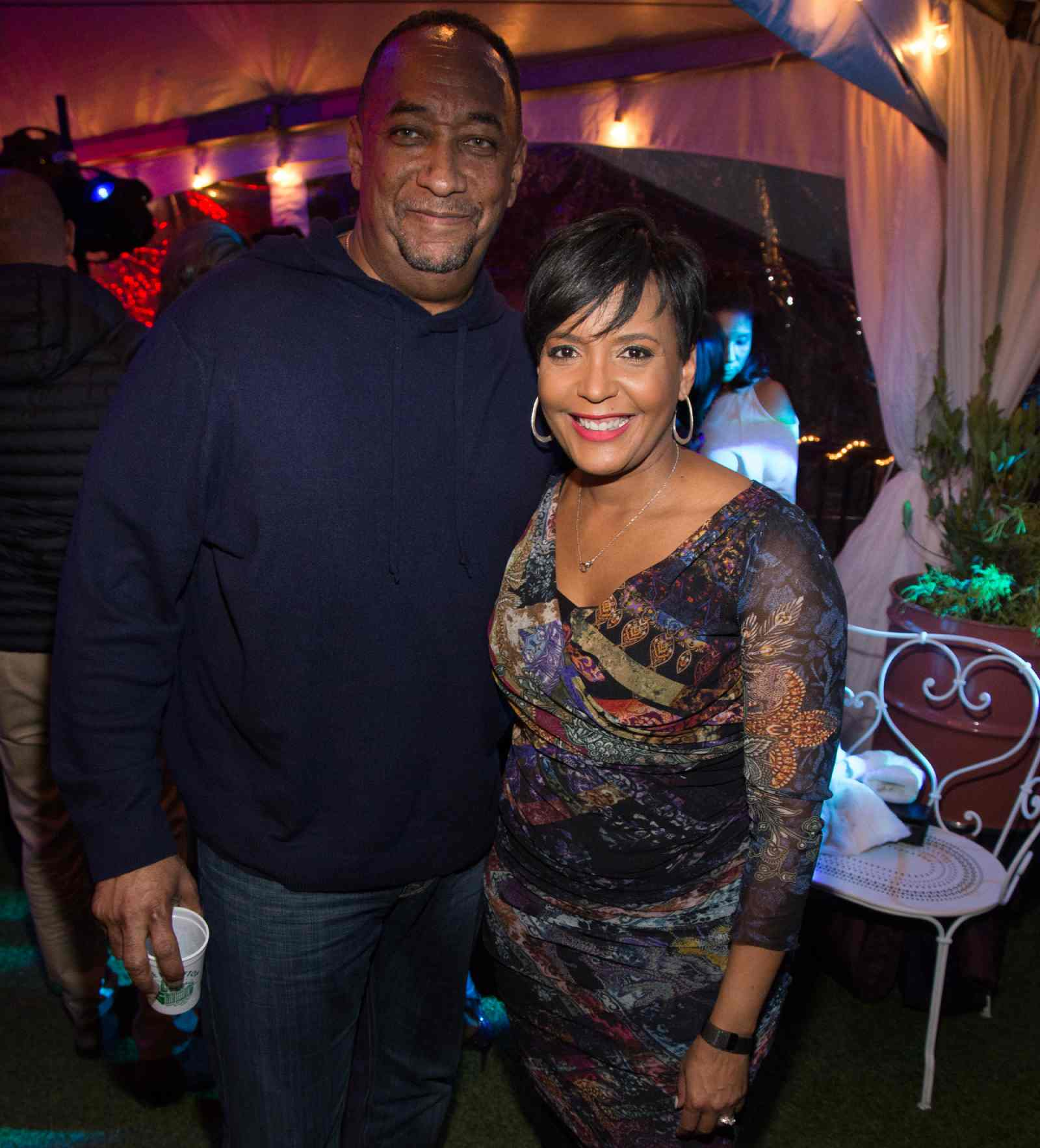 Derek Bottoms and her Mayor Wife Keisha Lance Bottoms