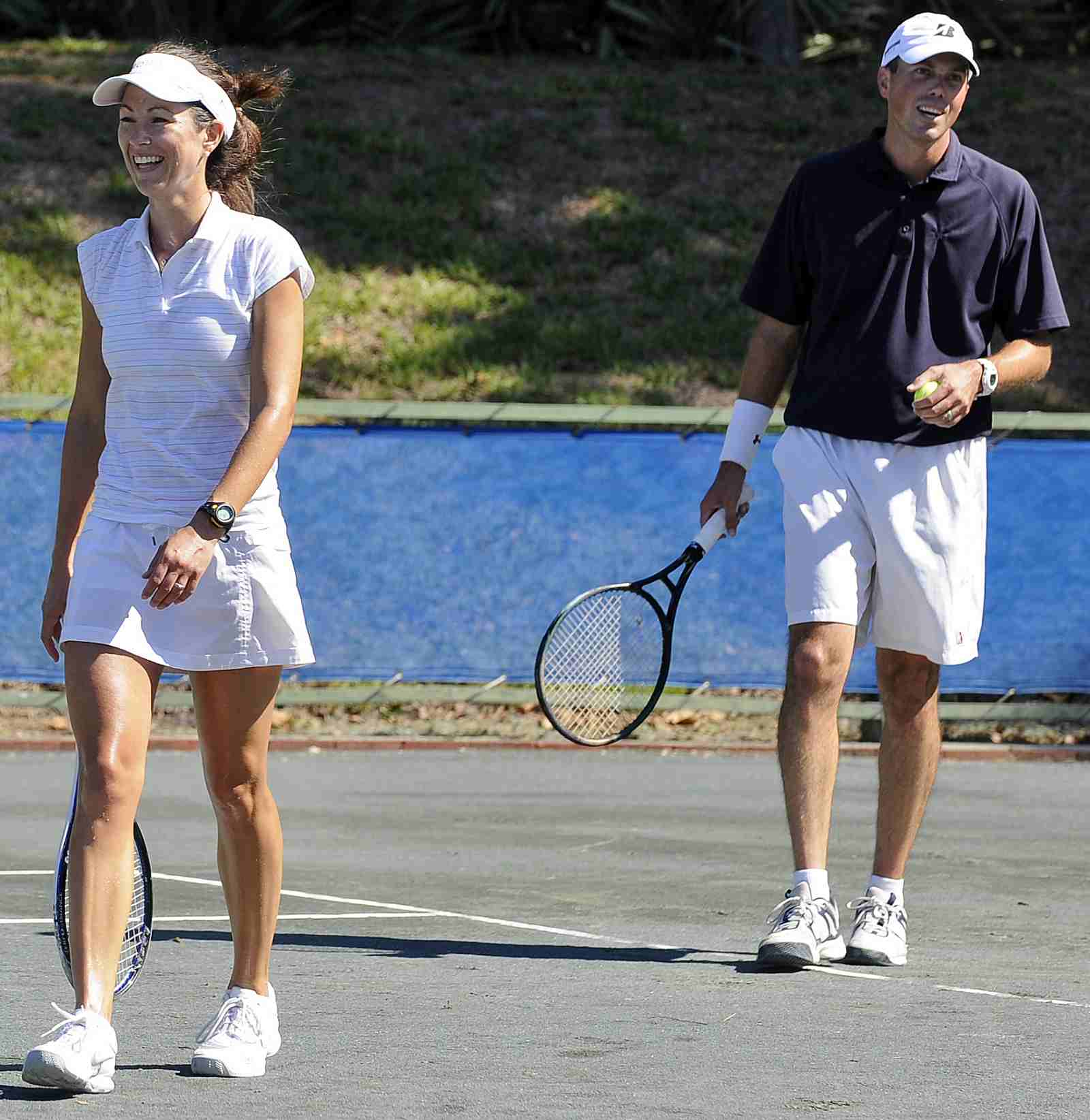 Matt Kuchar and his wife Sybi Tennis