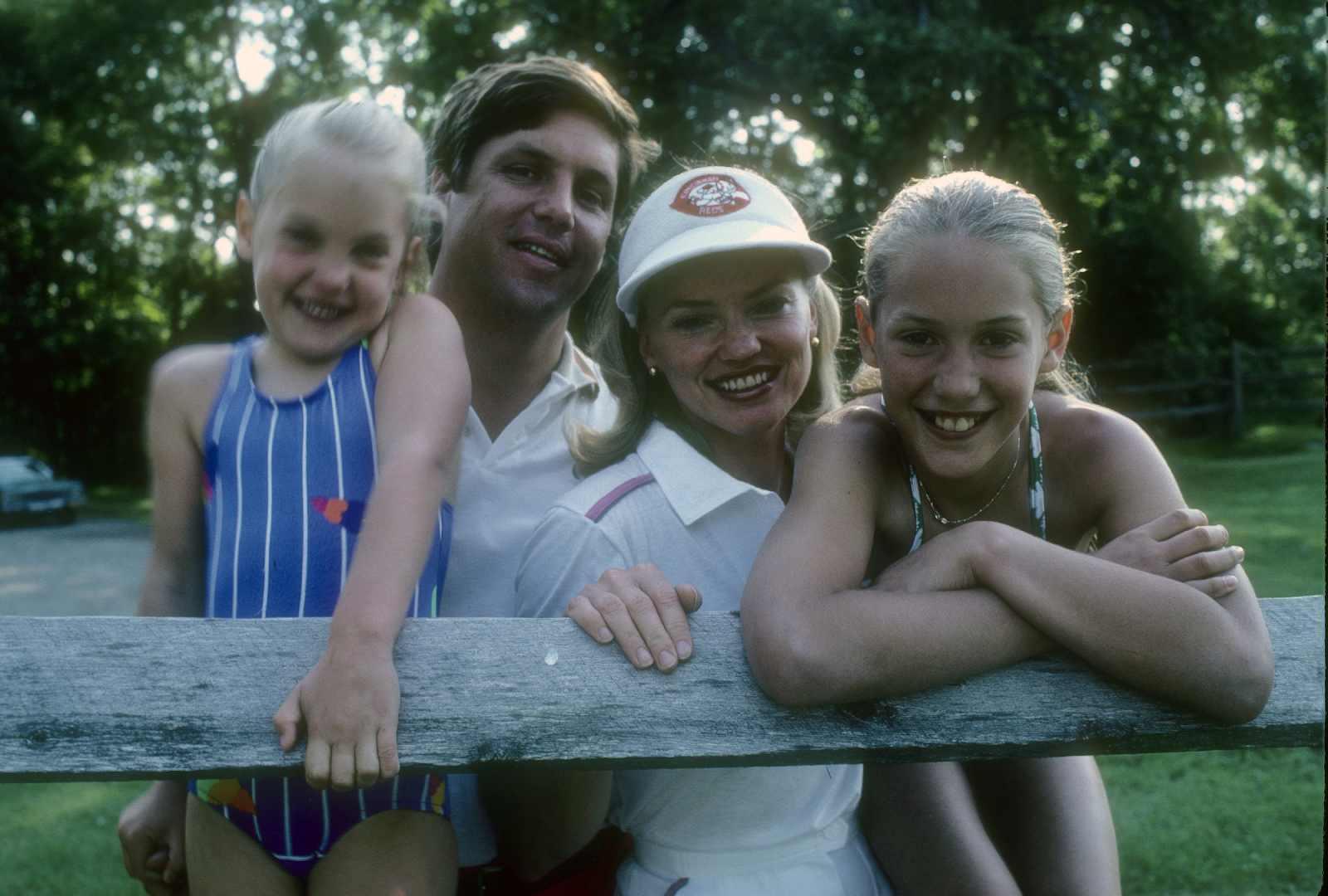Tom Seaver, Nancy Seaver, Sarah Seaver and Anne Elizabeth Seaver