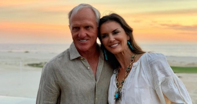 Greg Norman's Wife