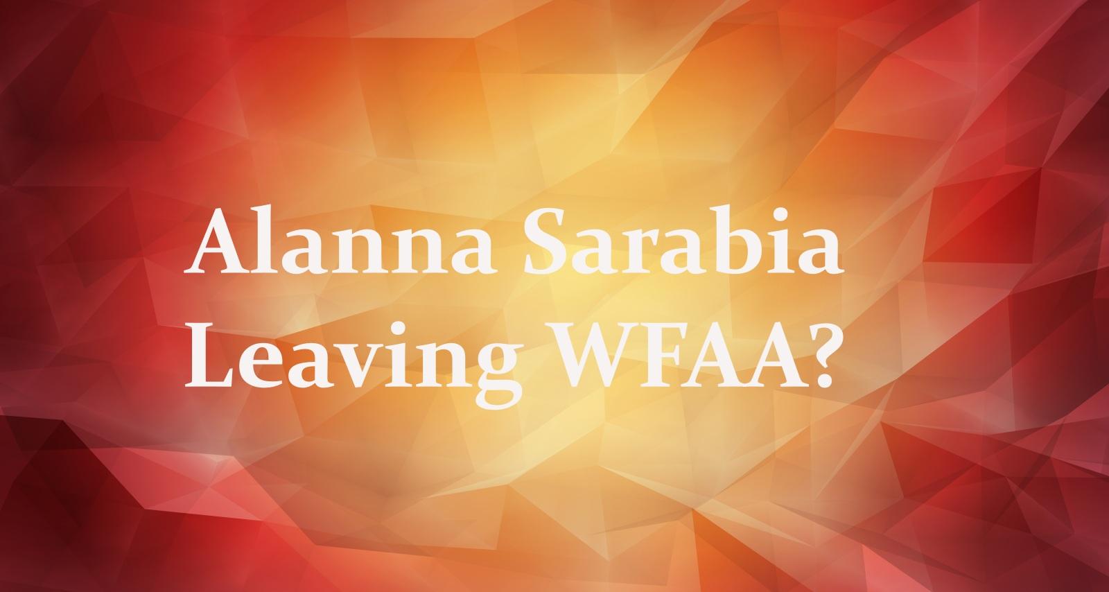 Alanna Sarabia Leaving WFAA