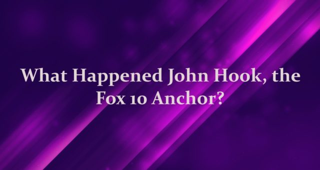 What happened to John Hook